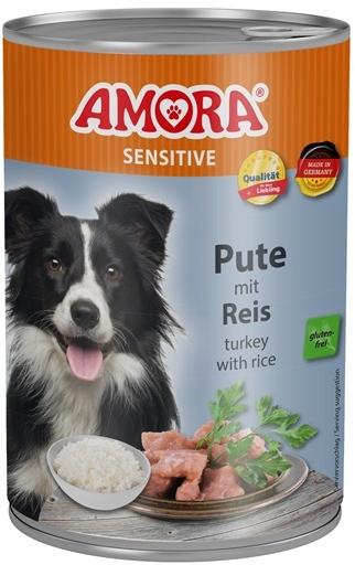 AMORA Dog Dose Sensitive krůta s rýží 400g