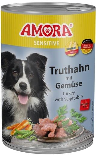 AMORA Dog Dose Sensitive krocan se zeleninou 400g
