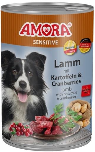 AMORA Dog Dose Sensitive jehněčí s brambory 400g