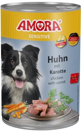 AMORA Dog Dose Sensitive kuřecí s mrkví 400g