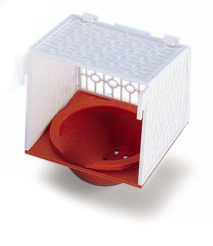 Nobby hnízdo červené s držákem 15,4 x 15,2 x 11,2 cm