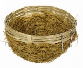 Nobby hnízdo bambusové + kokosové vlákno 11x5cm