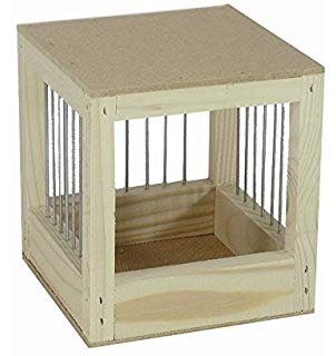 Nobby hnízdo dřevěné 11 x 11 x 14 cm