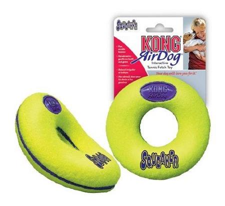 Kong AirDog Donut Medium tenisová hračka 12cm