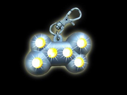 Nobby Starlight blikající velký přívěšek 4,5 x 3 cm 1ks