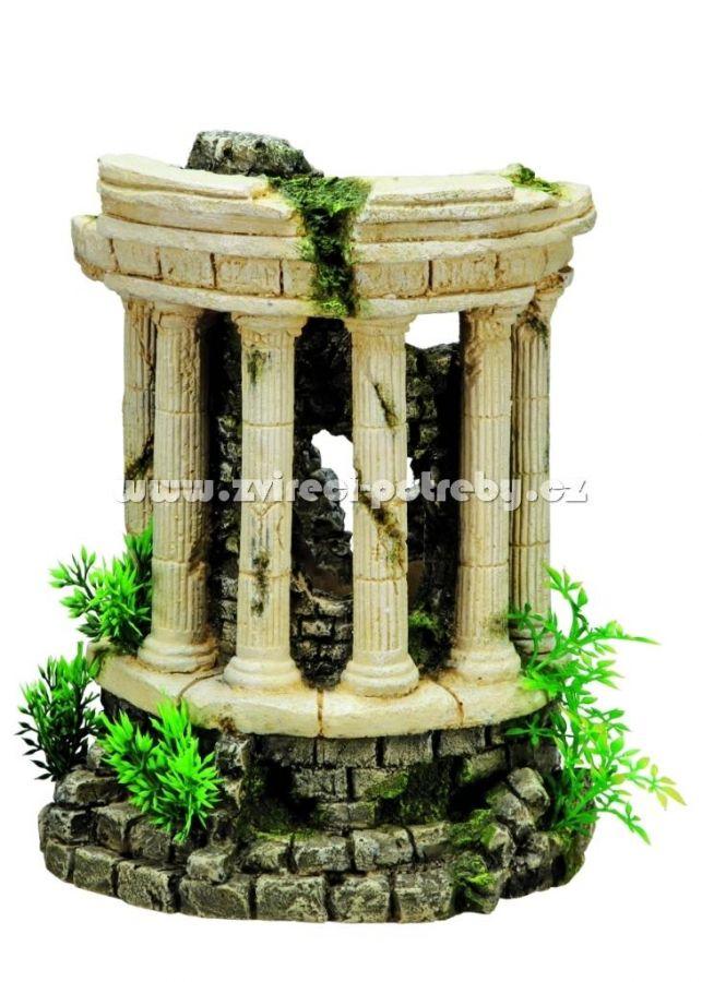 Nobby vzduchovací akvarijní dekorace antické sloupy 25 x 20,5 x 28,5 cm