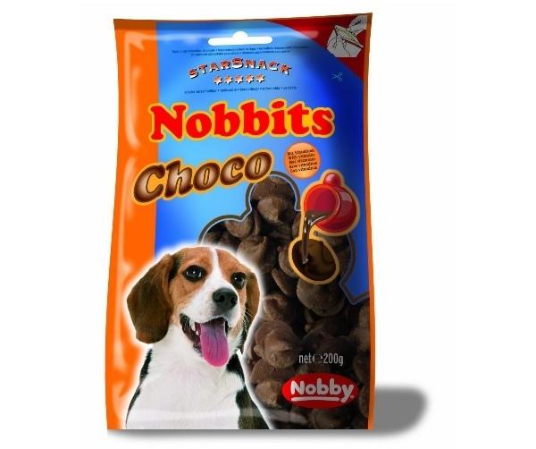 Nobby StarSnack Nobbits Choco pamlsky pro psa 200g