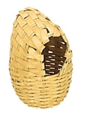 Nobby hnízdící proutěná budka pro exoty 7x11cm