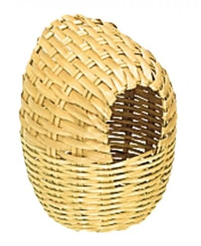 Nobby hnízdící proutěná budka pro exoty 11x16cm