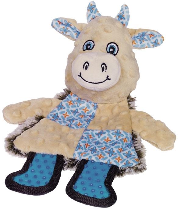 Nobby plochá hračka pro psy kravička 30 cm