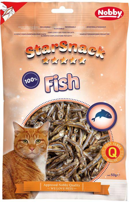 Nobby StarSnack Cat sušené rybičky ančovičky 85g