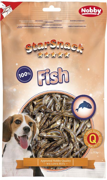 Nobby StarSnack Dog sušené rybičky ančovičky 113g
