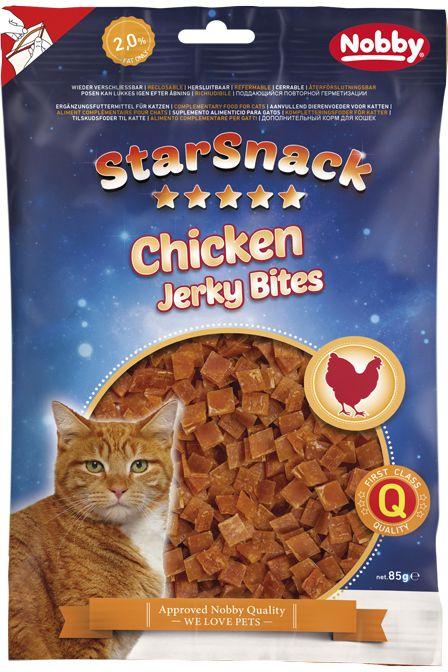 Nobby StarSnack pamlsek pro kočky trhané kuřecí 85g