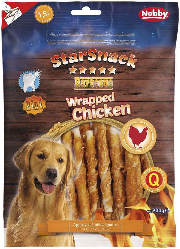 Nobby StarSnack Wrapped Chicken pamlsky 900g