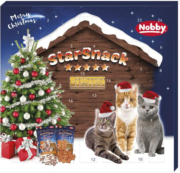 Nobby StarSnack adventní kalendář pro kočky