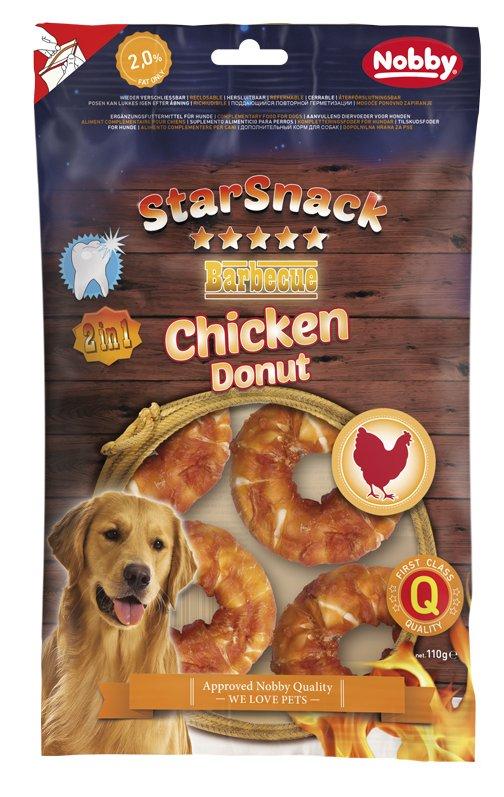 Nobby StarSnack Chicken Donut pamlsky 5cm 110g