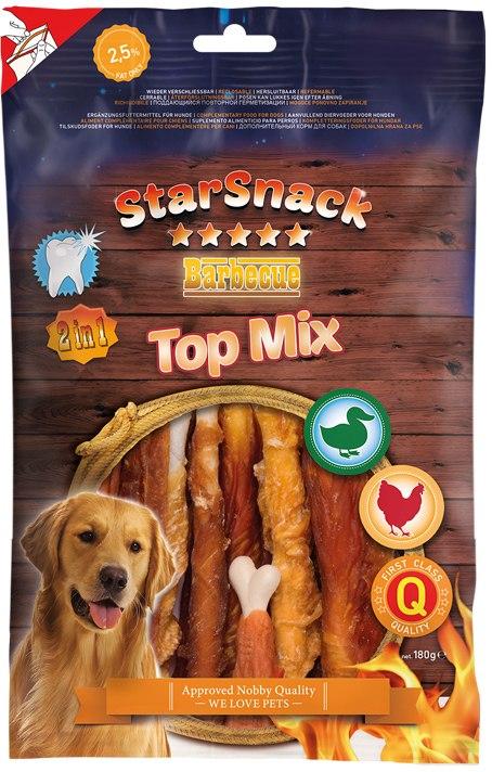 Nobby StarSnack BBQ Top Mix pamlsky 180g