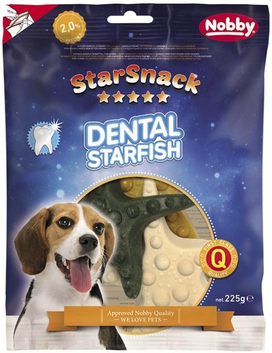 Nobby StarSnack Dental Starfish dentální hvězdice 12cm / 225g