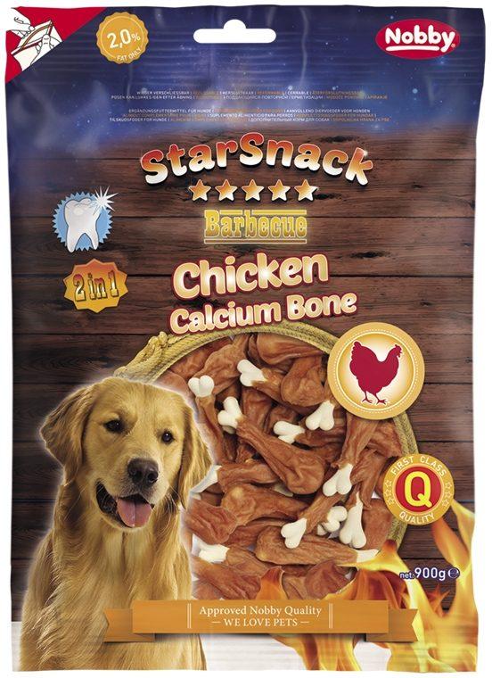 Nobby StarSnack Chicken Calcium Bone kalciová kost s kuřetem 900 g