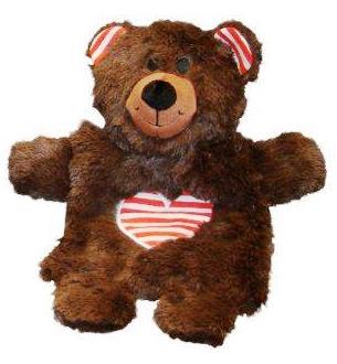 Nobby vánoční hračka medvídek 22cm