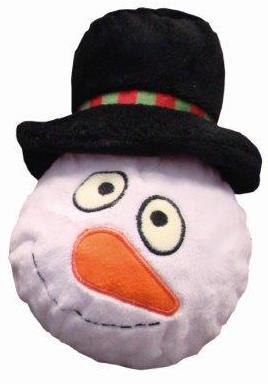 Nobby vánoční hračka sněhulák obličej 20cm