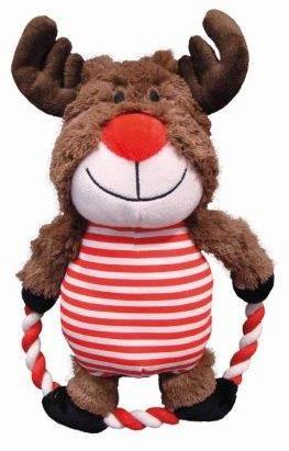 Nobby vánoční hračka sob s lanem 30cm