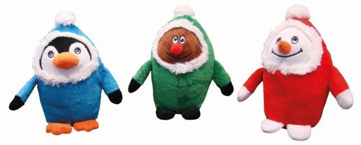 Nobby vánoční hračka eskimák 18cm 1ks