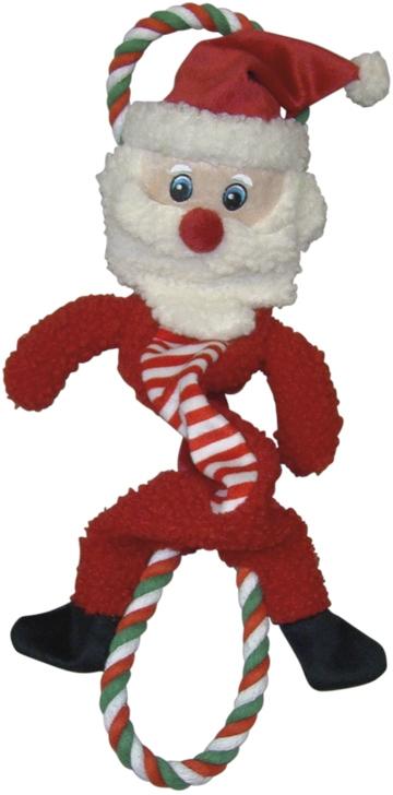 Nobby vánoční hračka elastická Santa 39cm