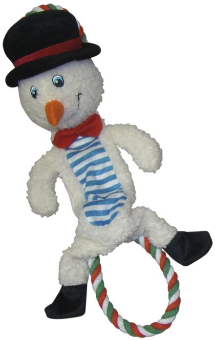 Nobby vánoční hračka elastická Sněhulák 39cm