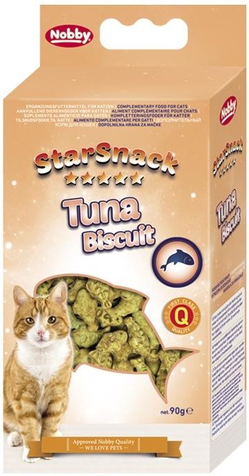 Nobby StarSnack TUNA BISCUIT tuňákové sušenky 90g