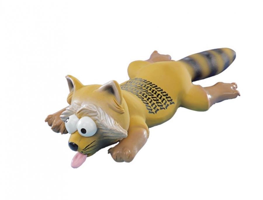 Nobby hračka pro psa přejetý mýval latex 25cm