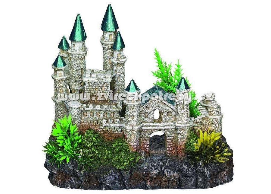 Nobby akvarijní dekorace středověký hrad 18,2 x 11,5 x 15,5 cm