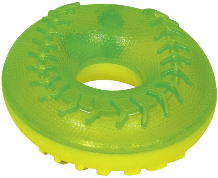 Nobby hračka pro psy TRP kruh zelená 11,5cm
