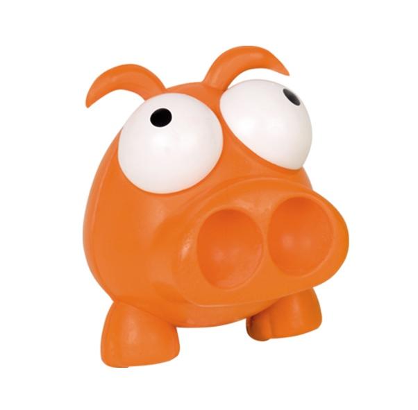 Nobby hračka pro psa vykulené prase 6cm