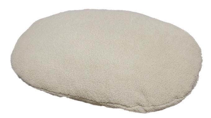 Nobby Mila plyšový polštář bežový 104x69cm