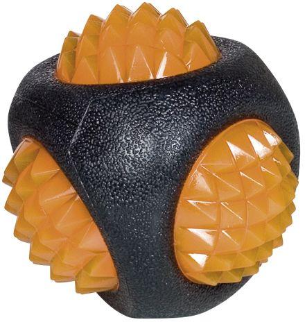 Nobby gumová hračka pro psy míček svítící 7,5 cm
