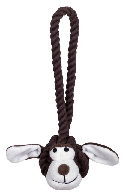 Nobby Rope Toy hračka malá pes s úchytem 28cm 160g