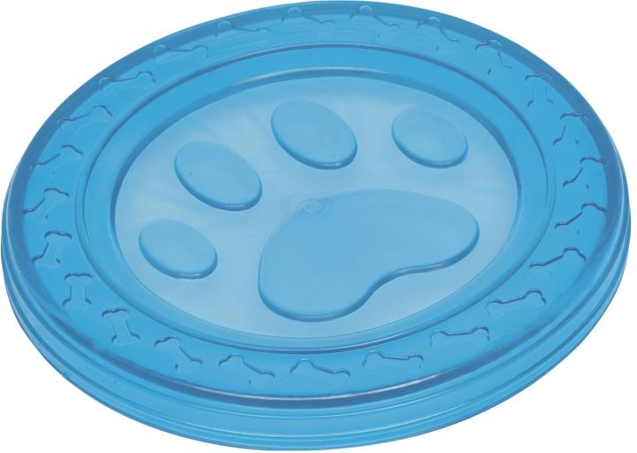 Nobby hračka pro psy termoplastická guma frisbee modré 22cm