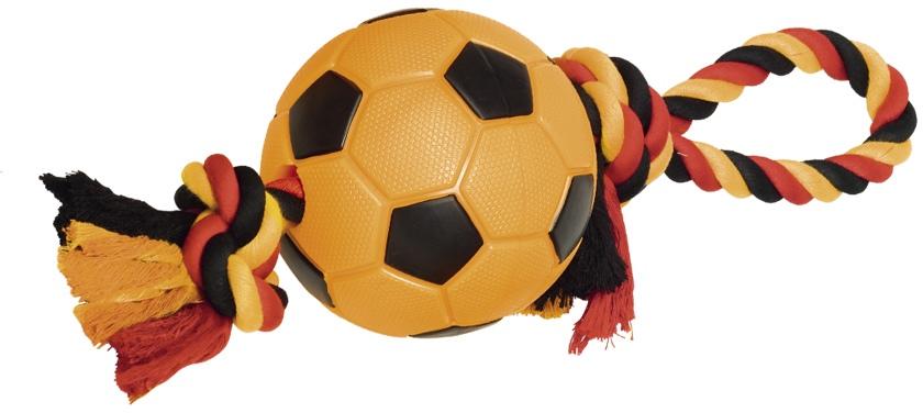 Nobby hračka pro psy termoplastická guma míč fotbal 42cm