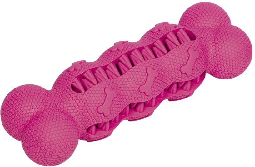 Nobby hračka dentální kost pro psy 17 cm růžová