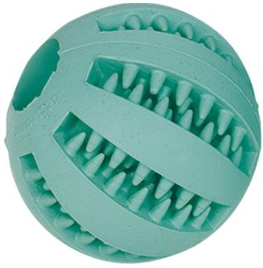 Nobby Dental hračka pro psy gumový malý míč s mátou 5cm