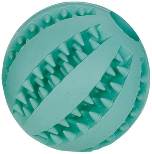 Nobby Dental hračka pro psy gumový velký míč s mátou 7cm