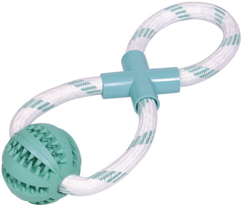 Nobby Dental hračka pro psy přetahovací uzel s mátou 30cm