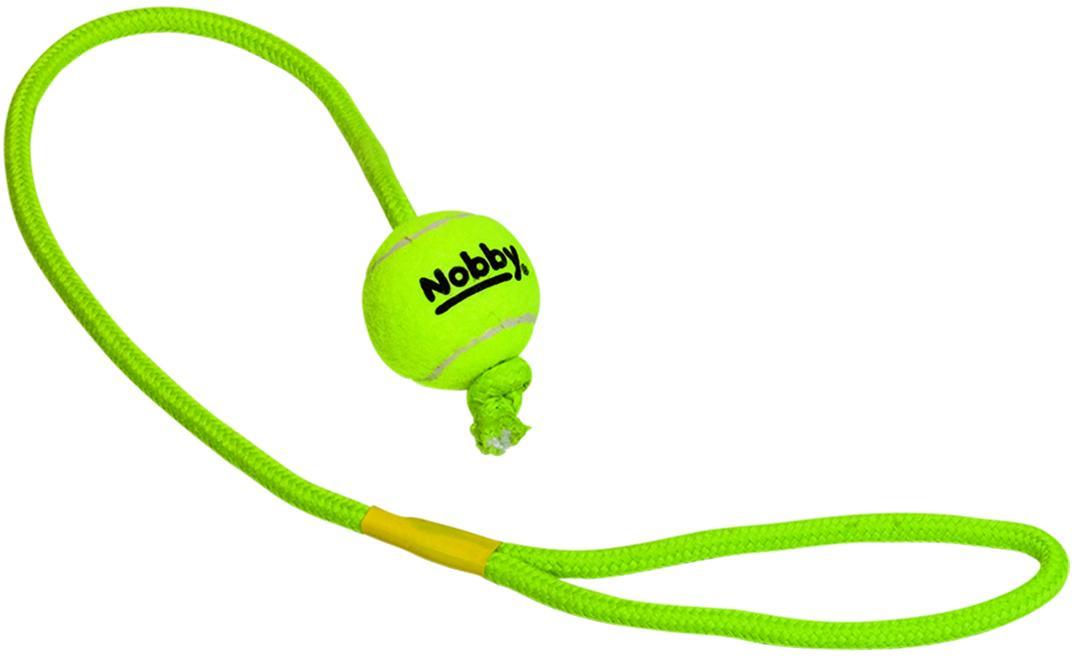 Nobby hračka tenisový míček S 5cm s lanem 70cm