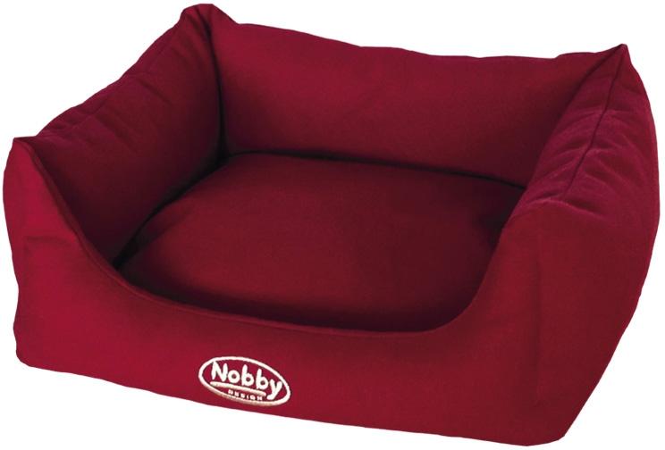Nobby TIRA bavlněný pelíšek červený 60x48x19cm