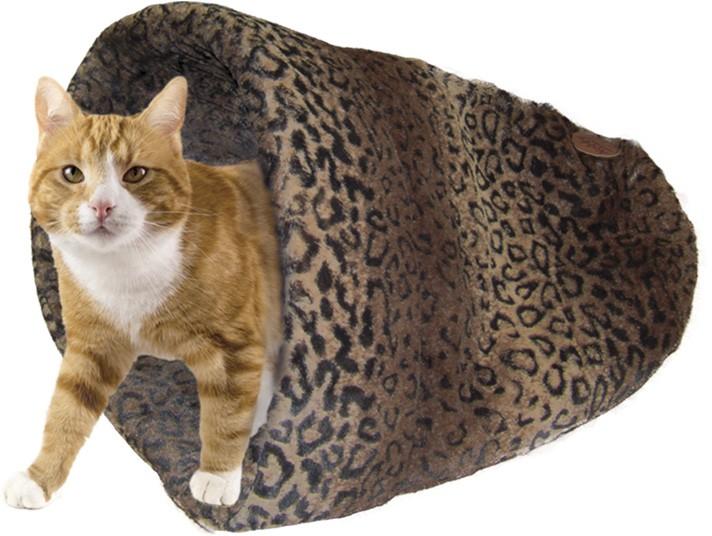 Nobby ALANIS spací pytel pro kočky a malé psy hnědá 45x48cm
