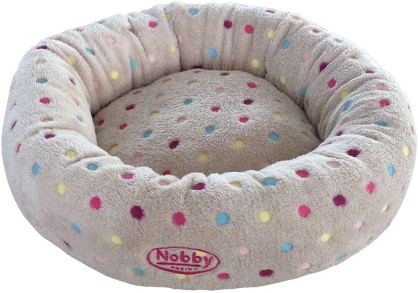 Nobby Spot pelíšek donut šedý 45cm