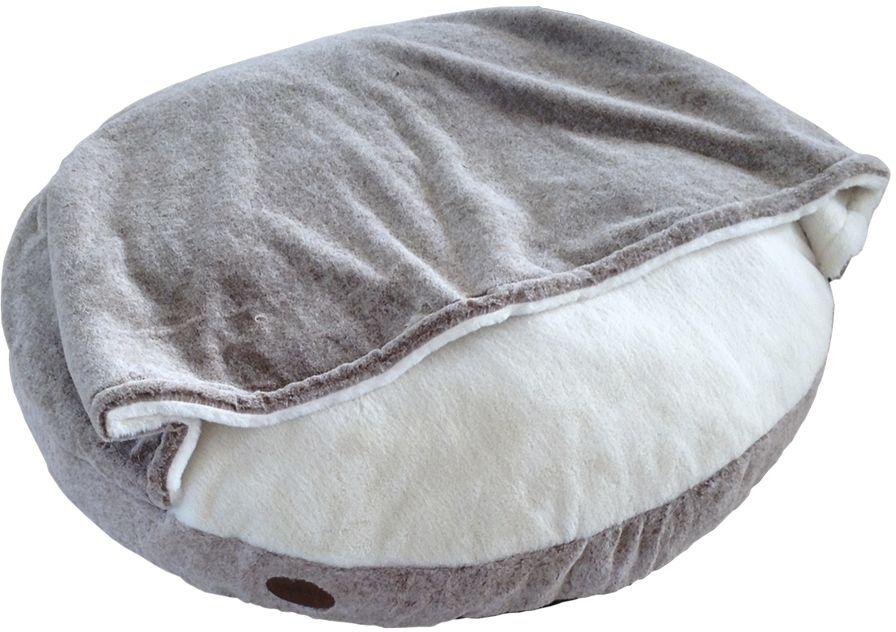 Nobby CUDDLY pelíšek s přikrývkou světle hnědá 92cm