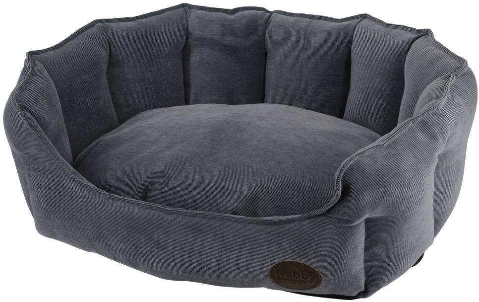 Nobby BOTELI pelíšek oválný šedý 55x50x21cm