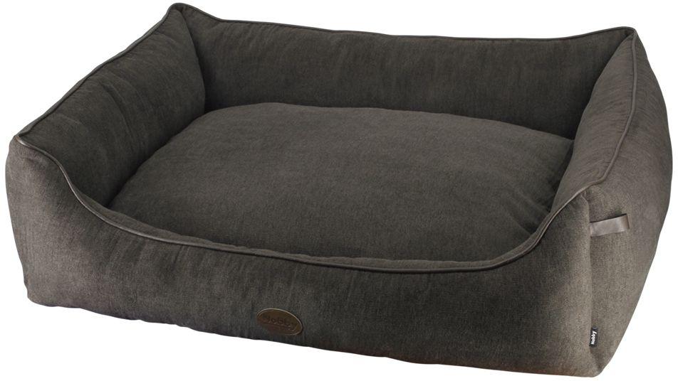 Nobby TANO obdelníkový pelíšek hnědý 80x70x23cm